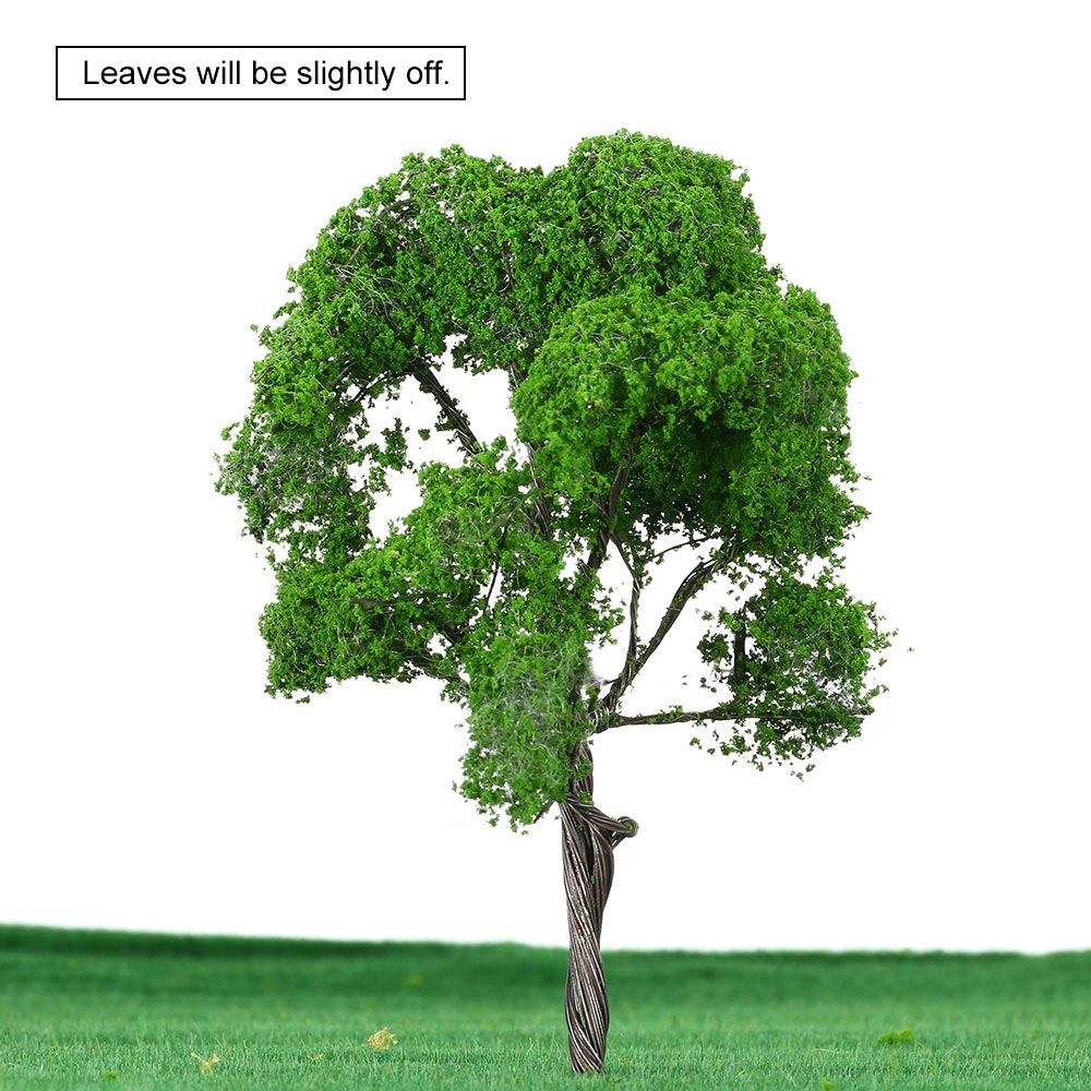 4.7 Inch Tree Model Building Plastic Miniature Mini Model Trees Train Layout Landscape Scenery Diorama Miniatures 1:75 Scale