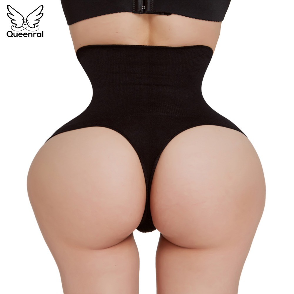 Abnehmen Unterwäsche Taille Trainer Abnehmen Briefs Butt Heber Kontrolle Hosen Nahtlose Body Shaper Hohe Taille Tanga Hüften Former Damen-dessous