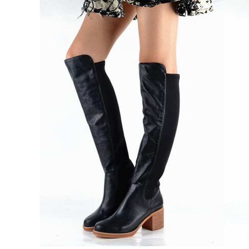 Popular Brown Suede Thigh High Boots-Buy Cheap Brown Suede Thigh ...