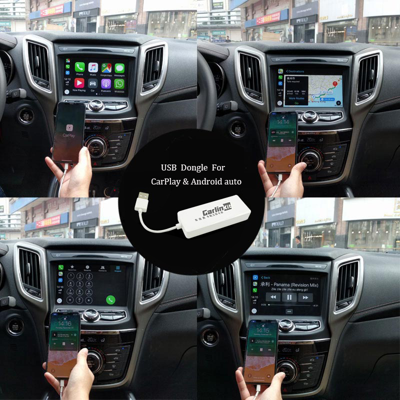 Carlinkit Usb Dongle Apple Ios Carplay Android Auto With Touch