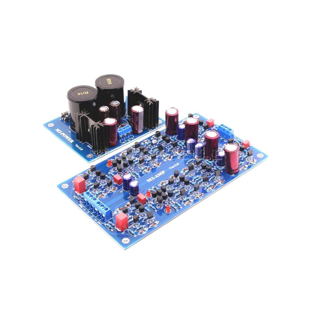 Assembled HIFI M2 Full Discrete Preamplifier Board Base on SC 7S2 Circuit