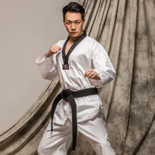 WTF white Taekwondo clothing adult children summer boy a genuine cotton long sleeved uniforms holomorphic