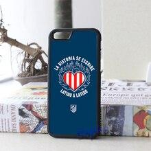 Атлетико мадрид 2 имиджевый Case cover для iphone 4 4S 5 5S 5C SE 6 плюс 6 s плюс 7 7 плюс и zz03