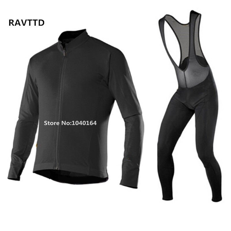 Solid Color Thermal Fleece Cycling Jersey Long Sleeve Ropa Ciclismo MTB Bicycle Jerseys Winter Thermal Fleece Cycling Clothes chic quality warmth thermal fleece base layer cycling long sleeve jersey for unisex