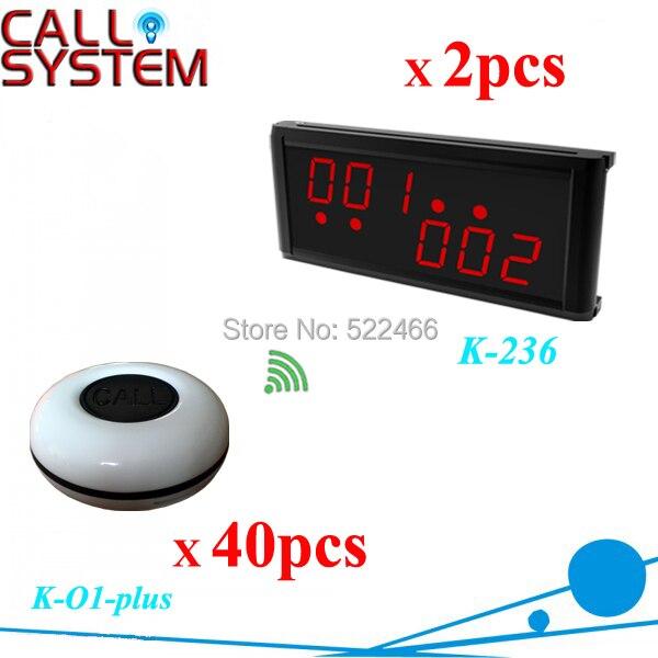 K-236 O1-plus-BK 2 40 Waiter wireless call calling system.jpg