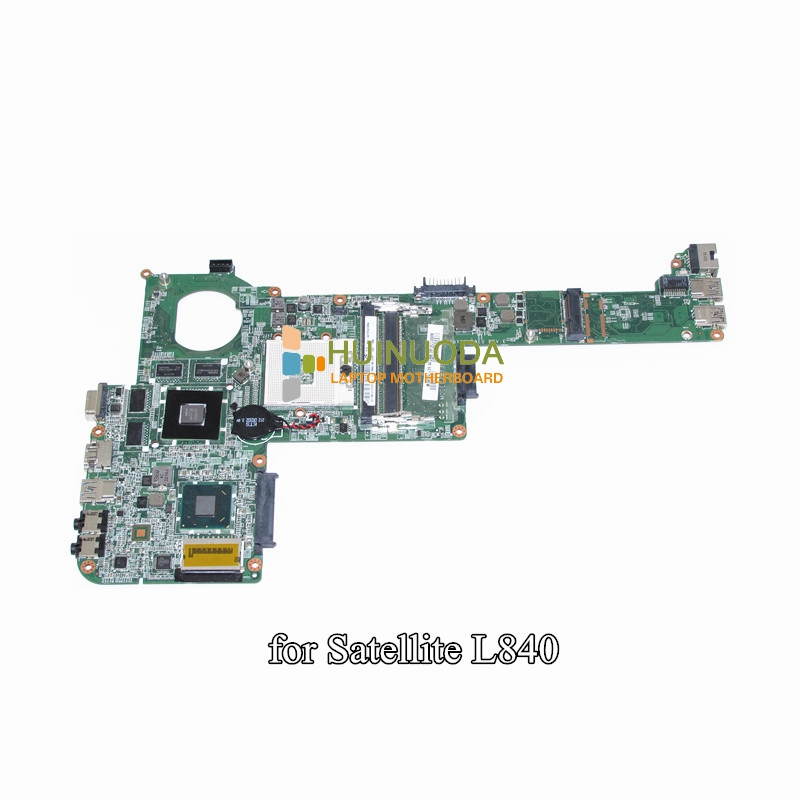 NOKOTION DABY3CMB8E0 A000174140 Laptop motherboard For toshiba satellite L840 HD4000+HD7670M DDR3 nokotion for toshiba satellite c850d c855d laptop motherboard hd 7520g ddr3 mainboard 1310a2492002 sps v000275280