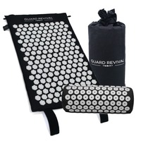 Wellness Therapy Acupressure Mat & Pillow Set Relieve Back And Neck Pain, Relax Muscles, Relieve Insomnia Washable Travel Bag
