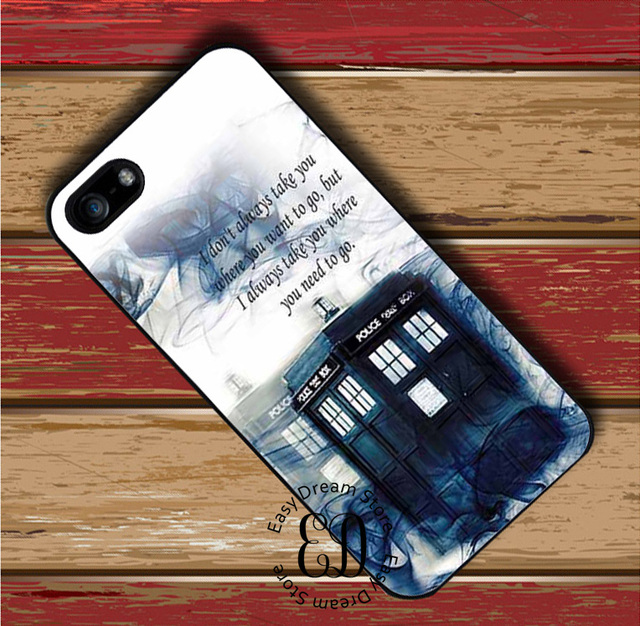 Tardis Doctor Who Police Box Case For Iphone X Xr Xs Max 4 5s Se 6