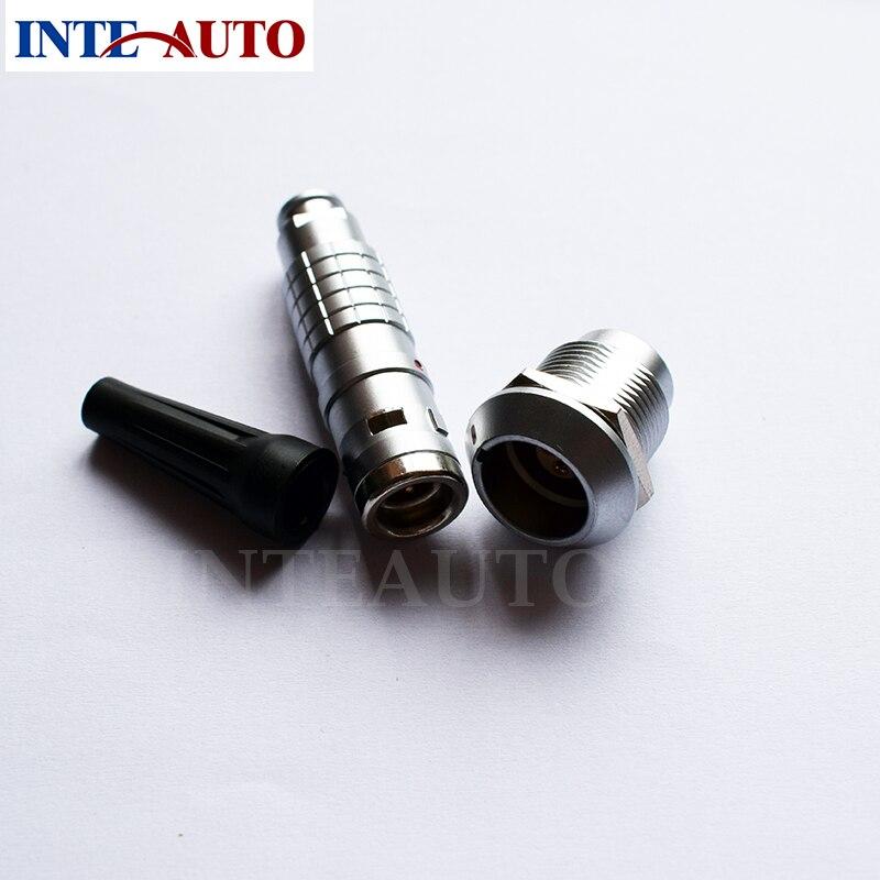 lemo 1K series 8 pins connector, waterproof cable plug and receptacle,cross FGG.1K.308 EGG.1K.308 1k черный