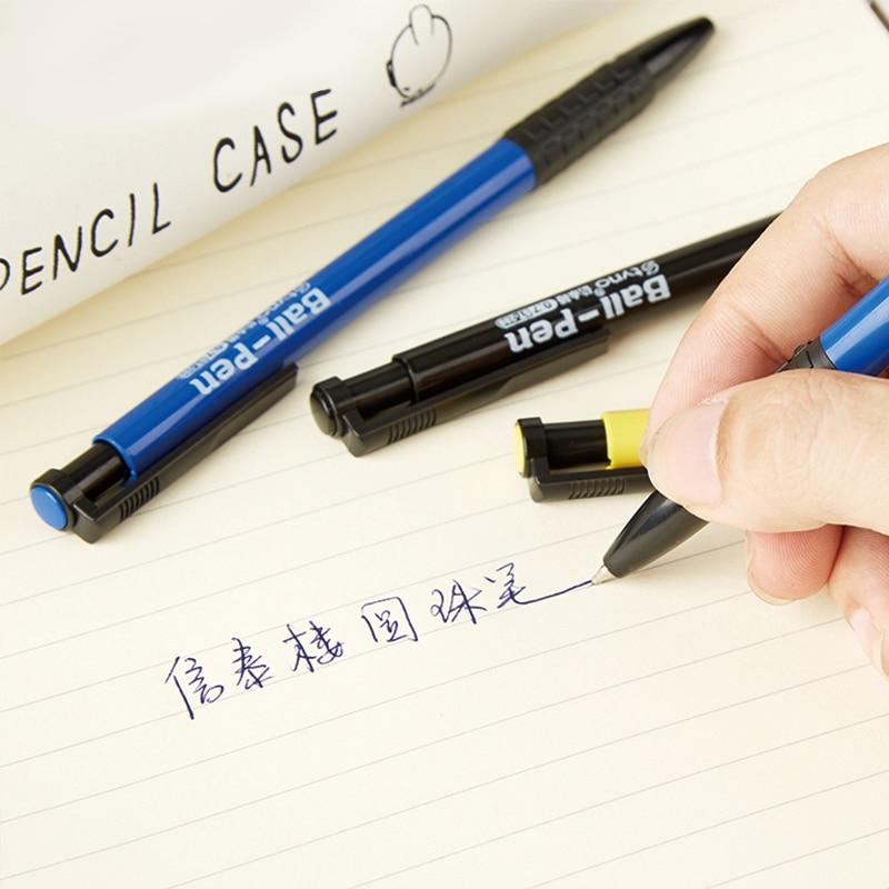 Creative Refill Ballpoint Pen 60Pcs 0 7mm Magic Touch Pen Oil Pen Student Gifts Exam Pen School Office Stationery ST 289 in Ballpoint Pens from Office School Supplies