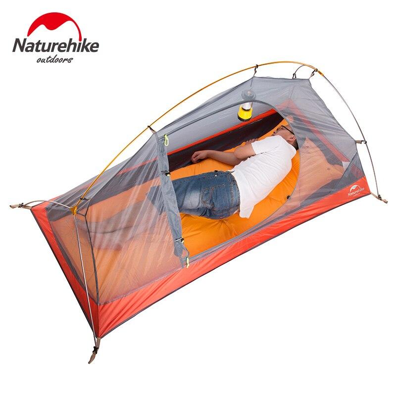 NatureHike силиконовые портативные сверхлегкие палатки водонепроницаемые 4000 + палатки двухслойные наружные туристические палатки - 2