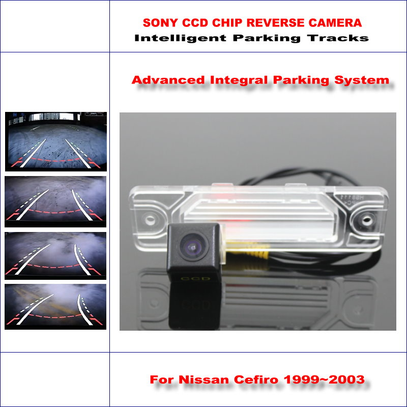 ФОТО 860 Pixels Car Rear Back Camera For Nissan Cefiro 1999~2003 Rearview Parking 580 TV Lines Dynamic Reverse Tragectory