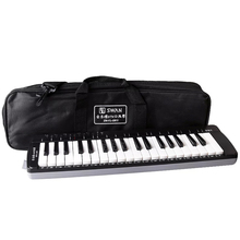 Swan 37 Key Melodica Education Musical Instruments Black ABS Keyboard Teaching Music-fundamentals Mouth Organ For Beginner SW37K