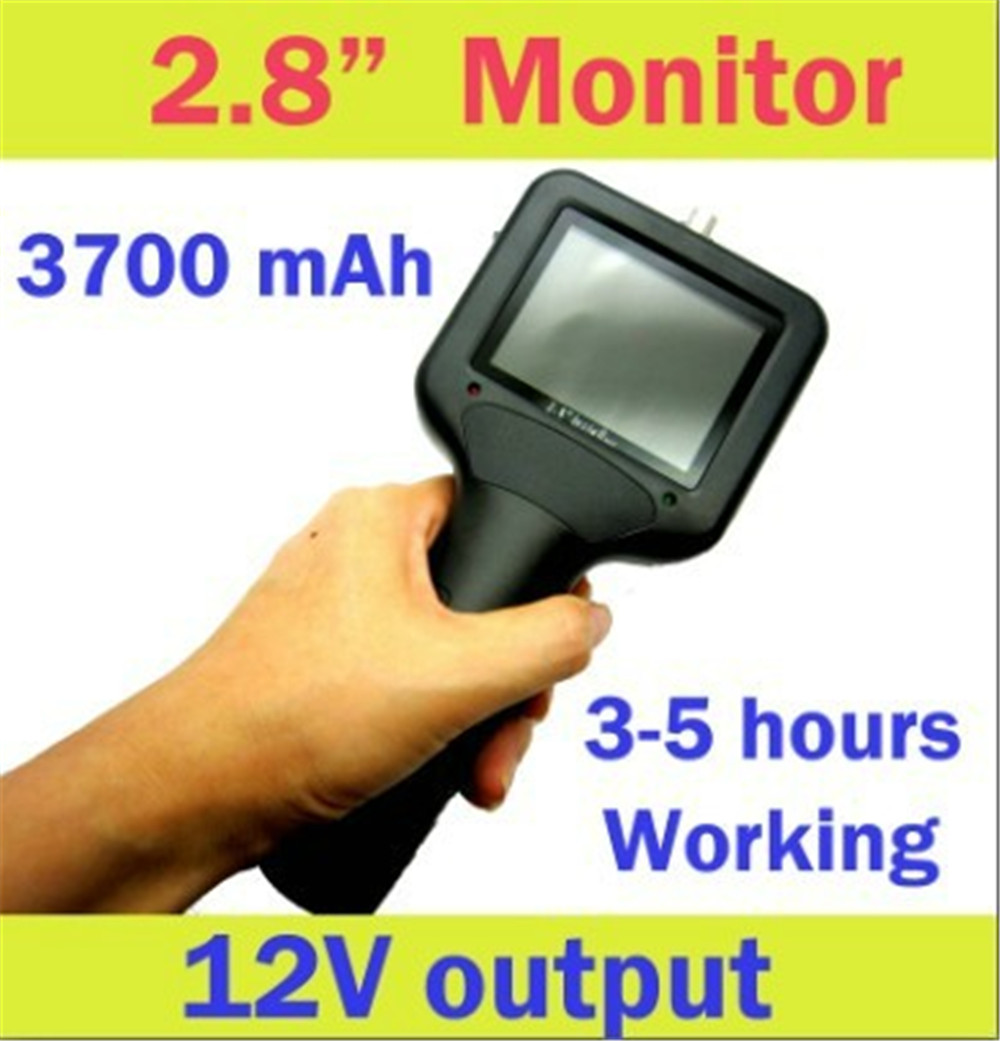 2.8 Inch Monitor CCTV Tester For CCTV Camera