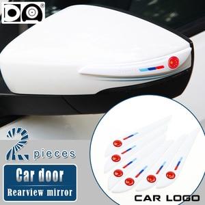 Image 3 - רכב דלת מראה אחורית נגד התנגשות רצועת עבור פולקסווגן טויוטה הונדה ניסן יונדאי Kia פורד אאודי BMW מאזדה Peugeot מרצדס סקודה