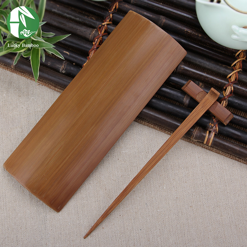 Bamboo tea tools set for tea ceremony includ tongs needle and tea scoop vintage Chinese Kung