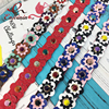 Hot Fashion Personality Flower Rivet Handbags Belts Women Bags Strap Women Bag Accessory Bags Parts Pu