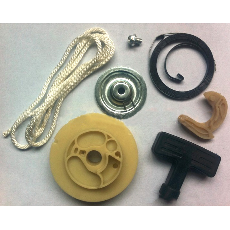 Gasoline generator parts 800W ET950 ET650 starter repair spare parts bag Rope Handle Pawl Plate Set цена
