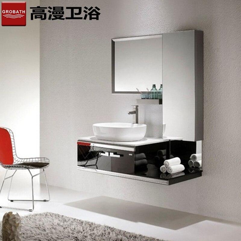 High diffuse bathroom mirror cabinet stainless steel bathroom ...