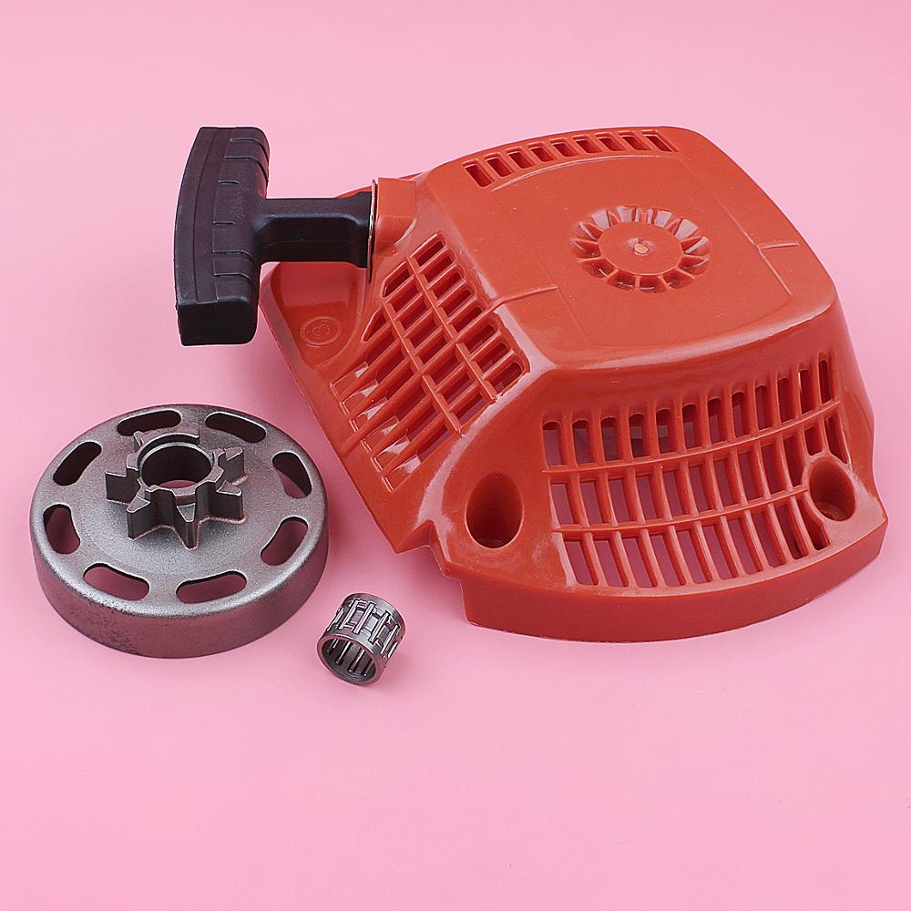Tools : Recoil Rewind Pull Starter For Husqvarna 435 440  325inch 7 Teeth Clutch Drum Bearing Chainsaw Spare Replace Part