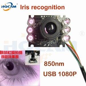 Image 1 - Hqcam 10 個 850nm ir は 1080 ミニ usb カメラモジュール ir 赤外線ナイトビジョン cmos ボードカメラ用アンドロイド linux windows