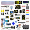 Free shipping! Keyestudio Super Starter Learning kit/Starter Kit(UNO R3) for arduino with 1602 LCD RFID+PDF