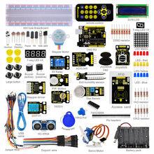 New Packing! Keyestudio Super Starter Learning kit/Starter Kit(UNO R3) for arduino with 1602 LCD RFID+PDF