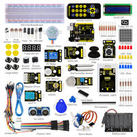 New Packing! Keyestudio Super Starter kit/Learning Kit(UNO R3) for arduino Starter kit with 32 Projects +1602 LCD RFID+PDF