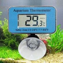 Цифровой ЖК-Дисплей LED Аквариум Fish Tank Водонепроницаемый Погружной Термометр