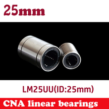 1pcs/lot LM25UU Linear Bushing 20mm CNC Linear Bearings Free shipping