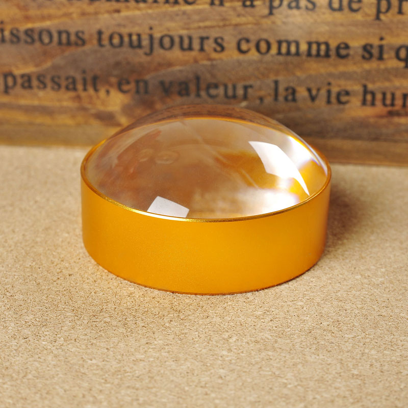 3x Functional Dome Paperweight Lens Desk Magnifying Glass Reading Loupe for Gift
