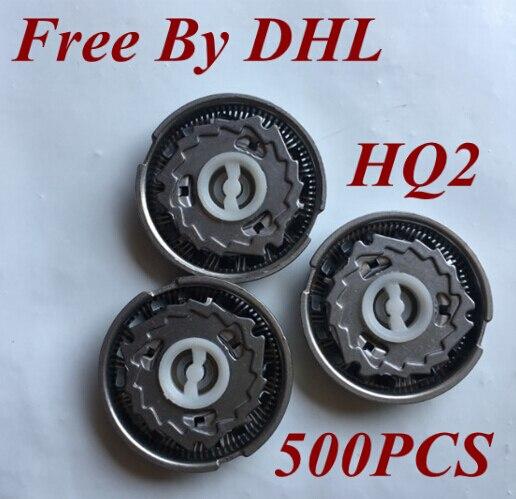 500 шт., HQ2, острое бритвенное лезвие для мужчин, Сменная головка для philips Norelco, электрическая бритва HQ20 HQ22 HQ220 HQ26 HQ262 HQ282 HQ2