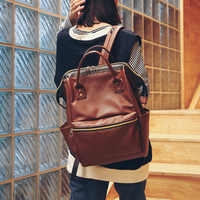 New Arrival Vintage Retro PU Large Capacity England Style Shoulders Backpacks Fashion Casual Lady Elegance Shopping