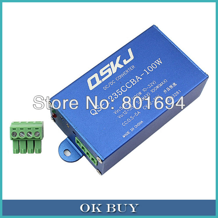 цена на DC-DC Boost Converter 5V-32V to 12V-35V 100W Step-up Constant Current Constant Voltage Power Supply Module