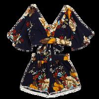 KLV 2019 повседневные женские летние пляжные шорты с v-образным вырезом и короткими рукавами из двух частей 5,18