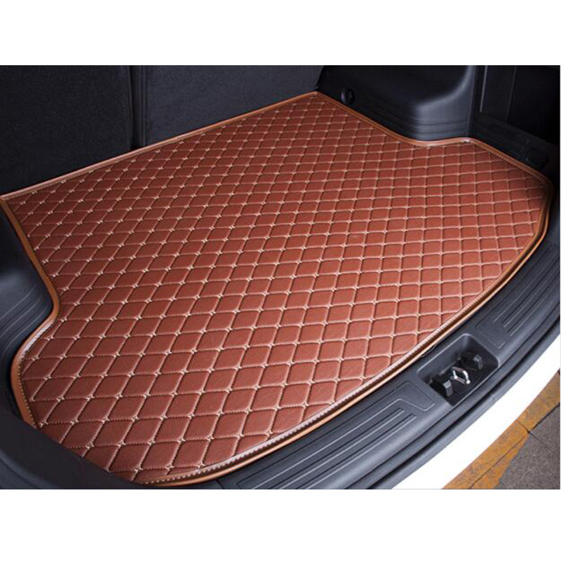 XWSN Special car trunk mat for Mazda All Models CX5 CX7 CX9 MX5 ATENZA Mazda 2/3/5/6/8 car styling Auto parts car mat custom car floor mats for mazda all models cx5 cx7 cx9 mx5 atenza mazda 2 3 5 6 8 auto accessories car styling