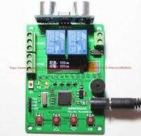 Acidente de carro/radar eletrônico/ultrasonic distância sensor de alarme display OLED