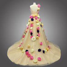 kejiadian Ball Gown Wedding Dress Court Train