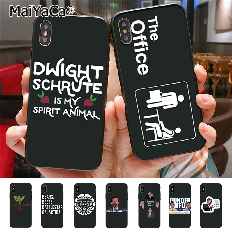 Cellphones & Telecommunications Audacious Maiyaca Tv The Office Cast Meme Michael Scott Newest Super Phone For Apple Iphone X Xs Xr Xs Max 8 7 6 6s Plus 5 5s Se 5c Case Beneficial To Essential Medulla Phone Bags & Cases
