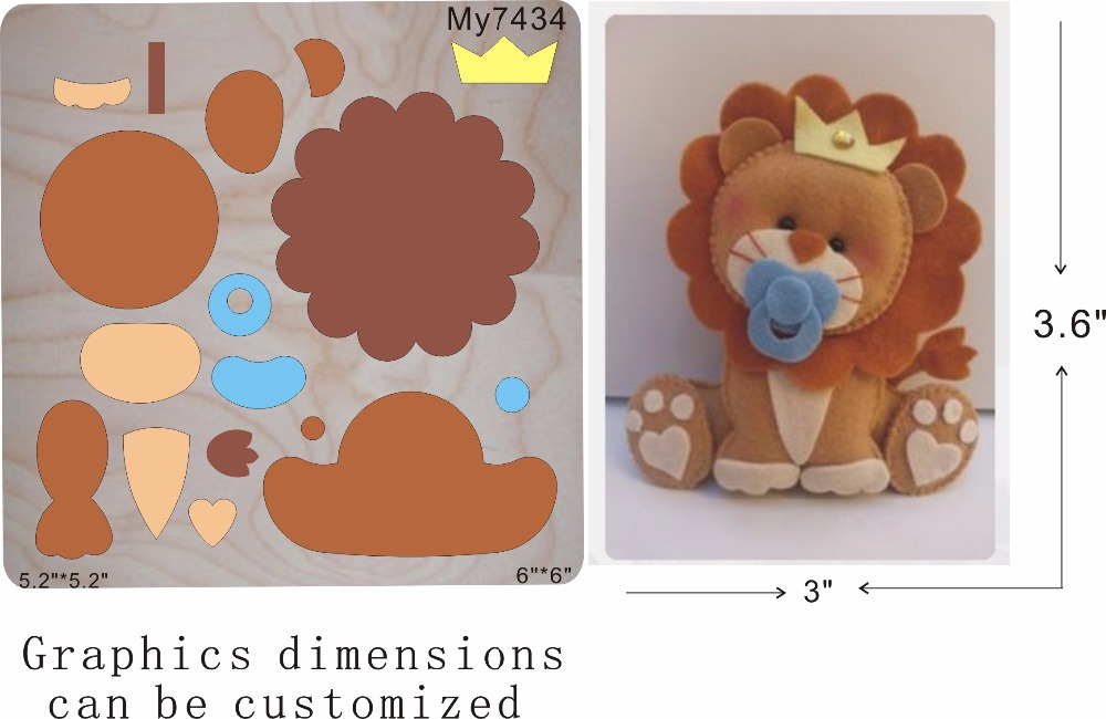 lion muyu cutting die-- new wooden mould cutting dies for scrapbooking Thickness-15.8mmlion muyu cutting die-- new wooden mould cutting dies for scrapbooking Thickness-15.8mm