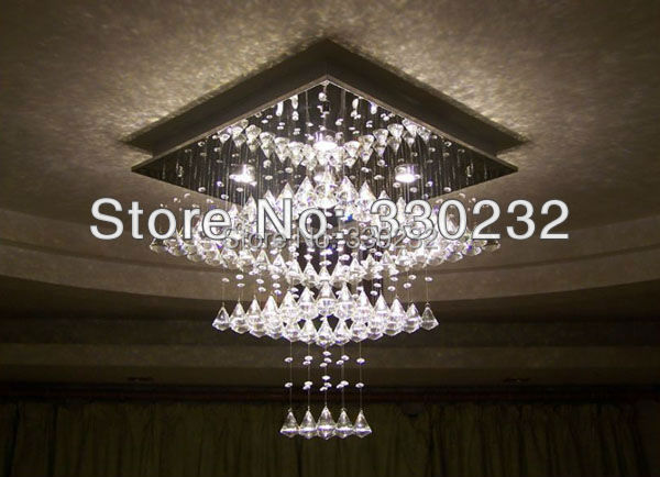 Modern Lamp Three-layer cake LED Crystal Pendant Lamp aslo for Wholesale