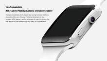 Smartch Nuevo Reloj Inteligente Bluetooth X6 Smartwatch Reloj Deportivo para Apple IPhone 7 Android Teléfono con Cámara FM Apoyo SIM tarjeta