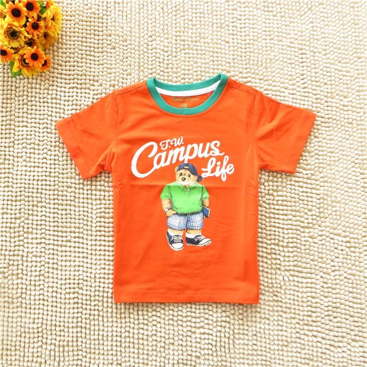 Kiváló minőségű új vattacukor színű gyermekek nyári póló - Gyermekruházat