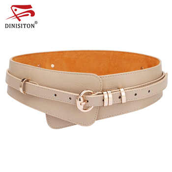 DINISITON  Womens Fashion PU Leather Lady Wide Waist Wide Waistband Bind Wide Belts Women Belt Dress Adornment YF005 - DISCOUNT ITEM  25% OFF All Category