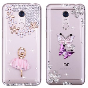 Redmi K20 Pro Case Bling Phone Case For Xiaomi Redmi 5 Plus 4A 4X 5A 6A 7A 8A Note 8T 9S 8 7 6 5 4 9 Pro MI A3 A1 A2 Lite Cover(China)