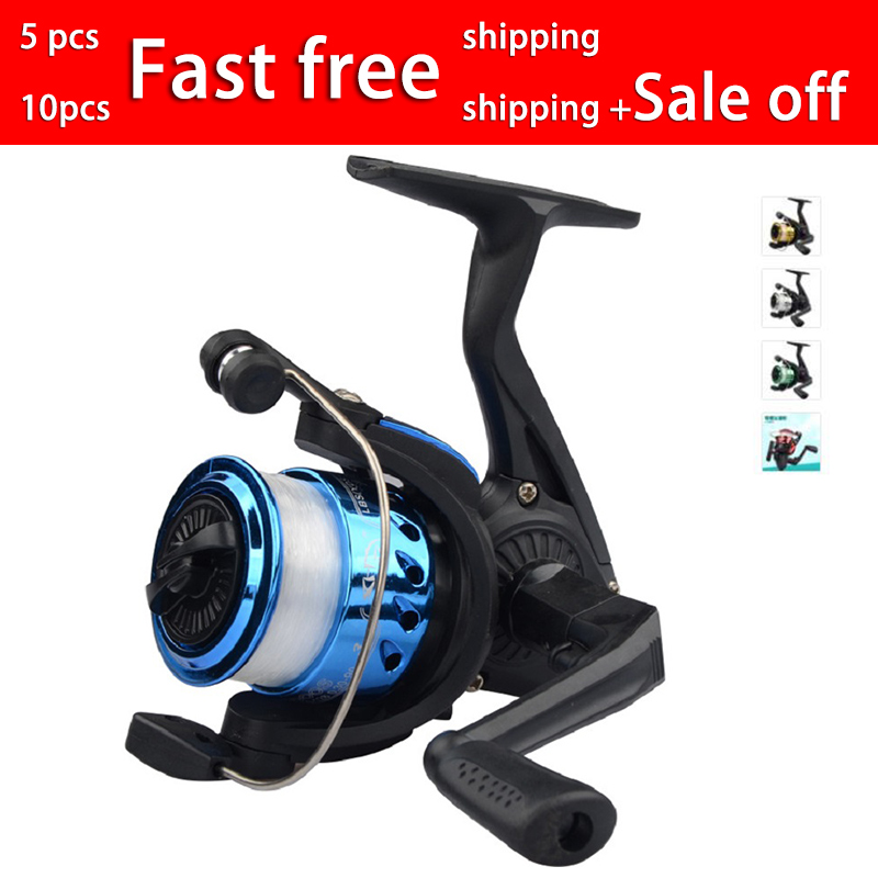 Fishing Wheel Spinning Reel Vessel Bait Casting Flying Fishing Trolling Spinning reels saltwater With Line Fishing Accessories-in Fishing Reels from Sports & Entertainment