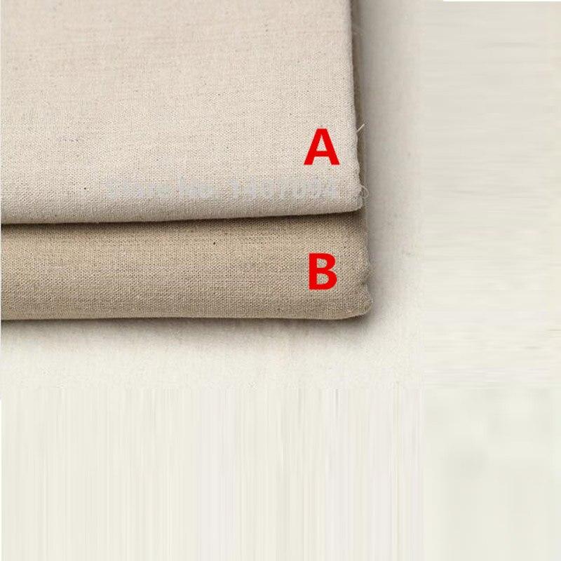 50 * 150 cm Linen Kain untuk Patchwork Merasa Tulle Gulungan Gaya - Seni, kerajinan dan menjahit