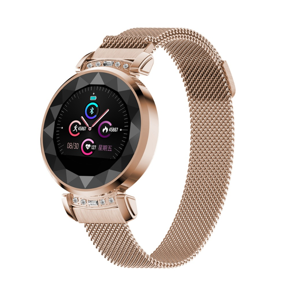 H2 plus Luxury Smart Watch Women Waterproof Ladies fashion Smartwatch Heart Rate Fitness Tracker for Android IOS PhoneH2 plus Luxury Smart Watch Women Waterproof Ladies fashion Smartwatch Heart Rate Fitness Tracker for Android IOS Phone