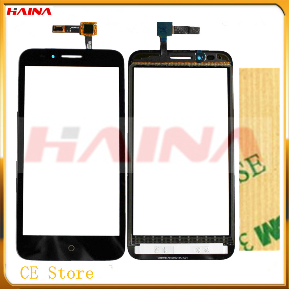 original quality phone For Alcatel One Touch Go Play OT7048 OT 7048 7048X Touch Screen Digitizer Front Glass Lens Panel Sensor