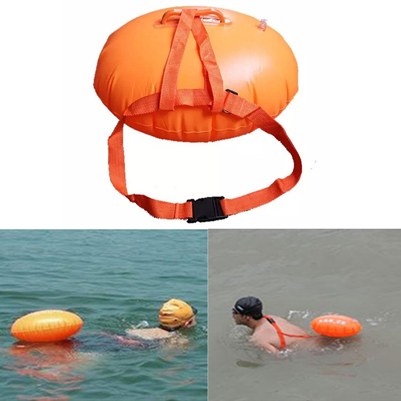 Amalibay Sports Safety Swimming Device Safety Swimming Floating Inflated Buoy Flotation For Pool Open Water Sea Swim Airbag